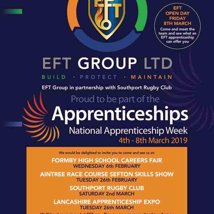 APPRENTICESHIP OPPORTUNITIES | EFT Group Ltd