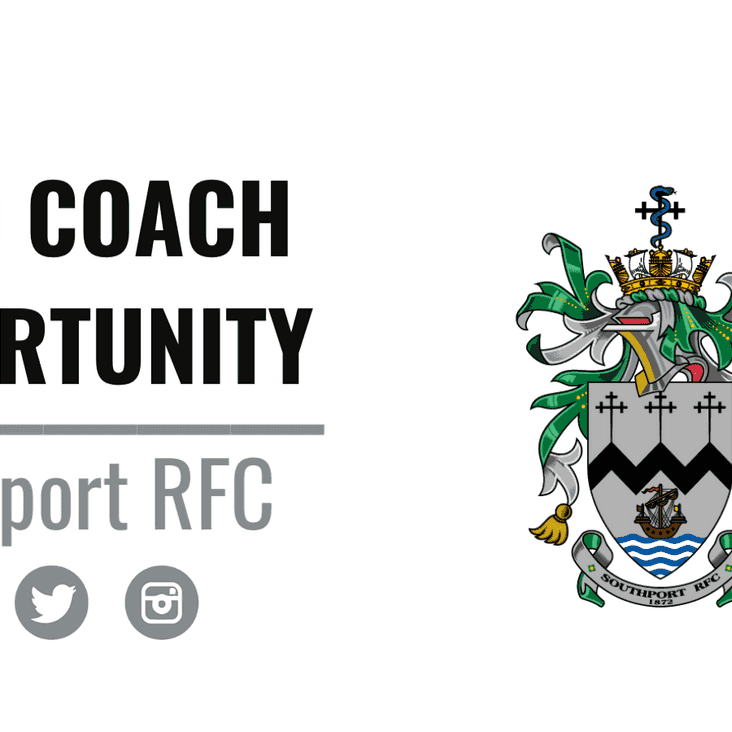 HEAD COACH VACANCY