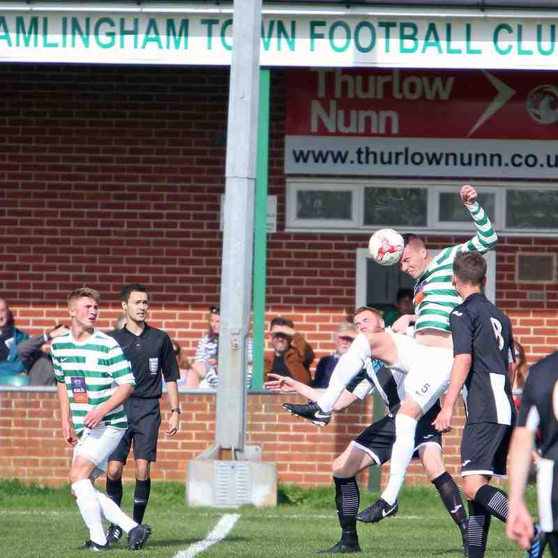 Framlingham Town v Swaffham FA Vase 2nd round