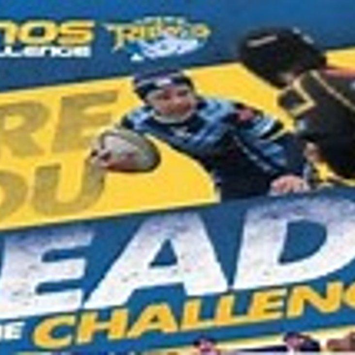 Rhinos Challenge Fundraising Bagpack<