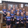 Girls Under 14's lose to Dewsbury moor 32 - 4