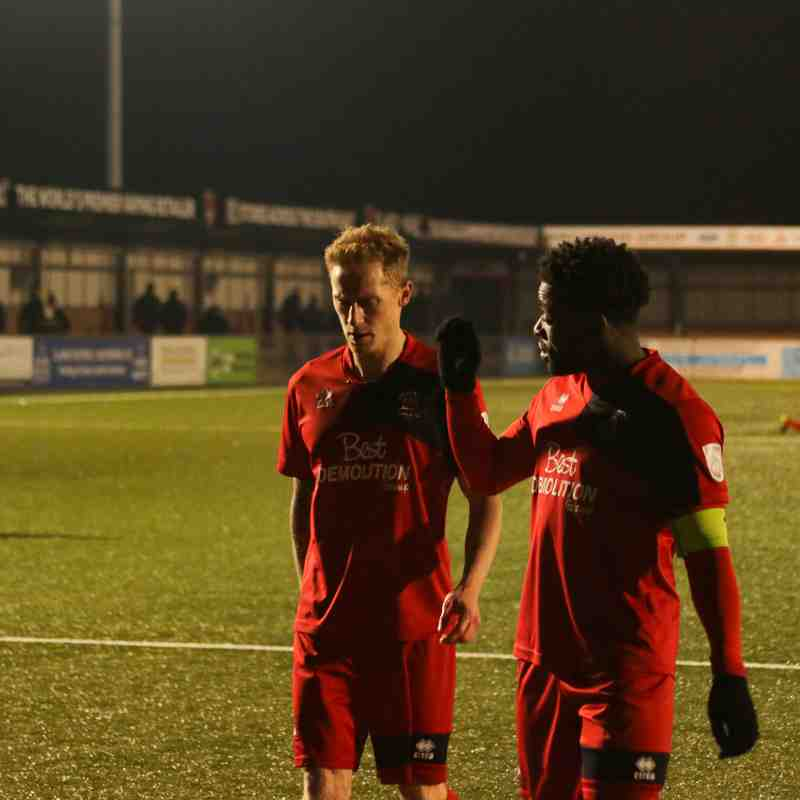 Eastbourne Borough - Hampton & Richmond Borough