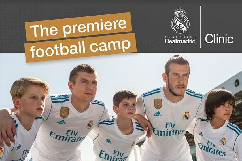 The Boro' host Real Madrid football camp