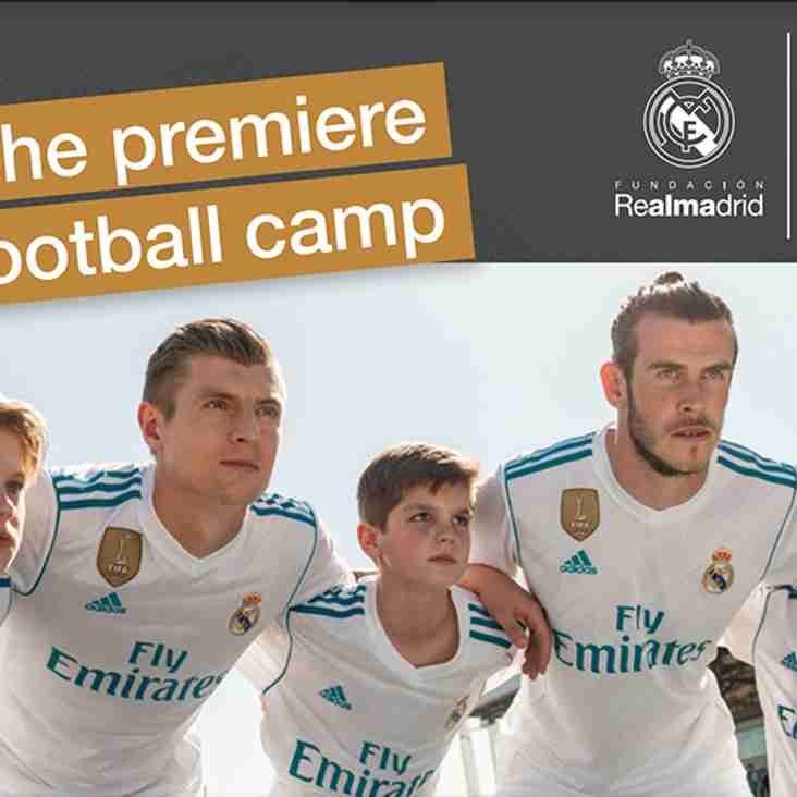 Real Madrid: The Premiere Football Camp
