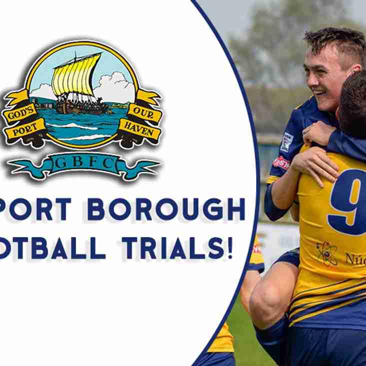 GBFC Football Trials