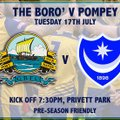 Gosport face Portsmouth