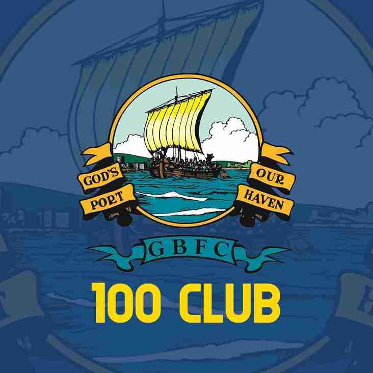 100 Club Announcement
