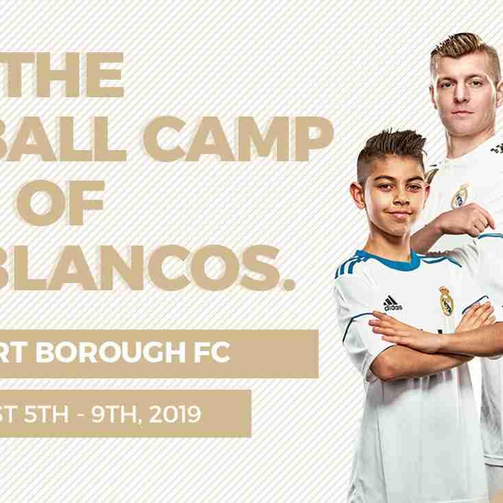 Real Madrid - Privett Park August 2019
