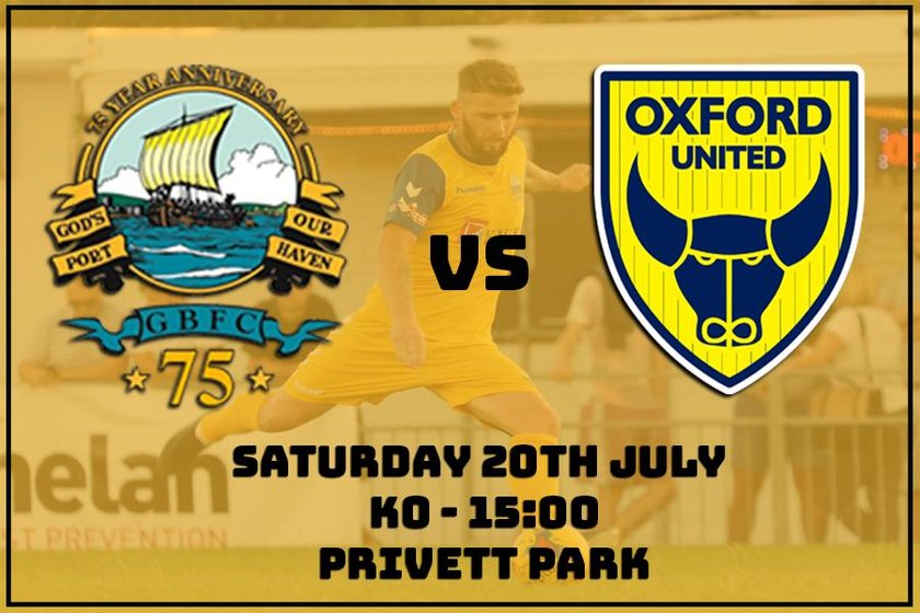 Game Saturday - Oxford Utd XI