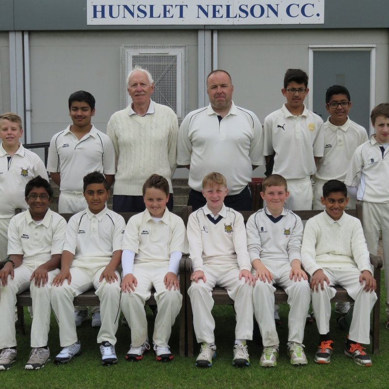 Wrenthorpe CC - Under 13 55 - 164/1 Hunslet Nelson CC - Under 13