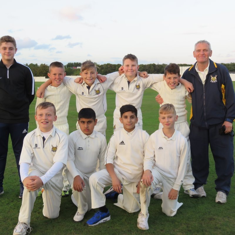 East Ardsley CC - Under 11 92/4 - 103/7 Hunslet Nelson CC - Under 11 Leeds