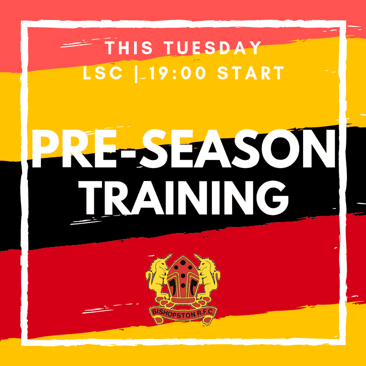 PRE-SEASON TRAINING