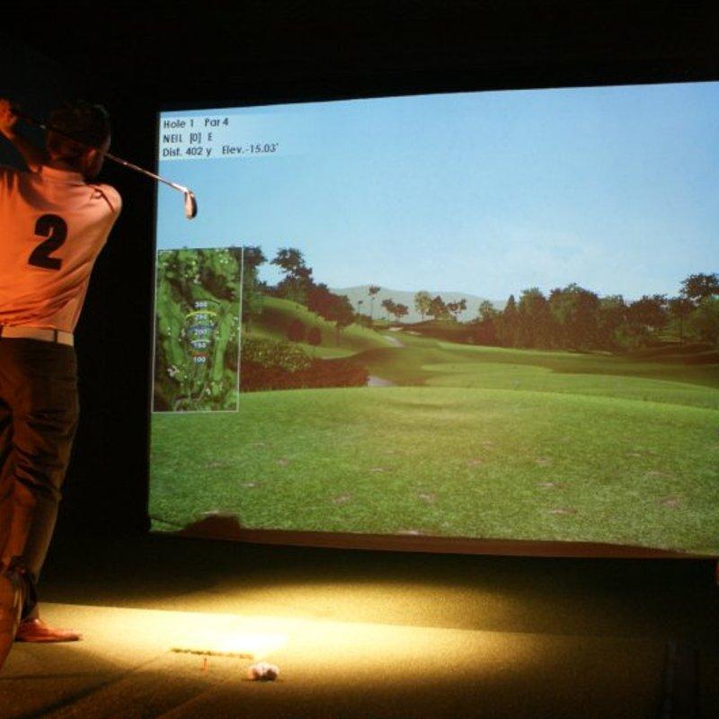 Indoor Golf Social Day