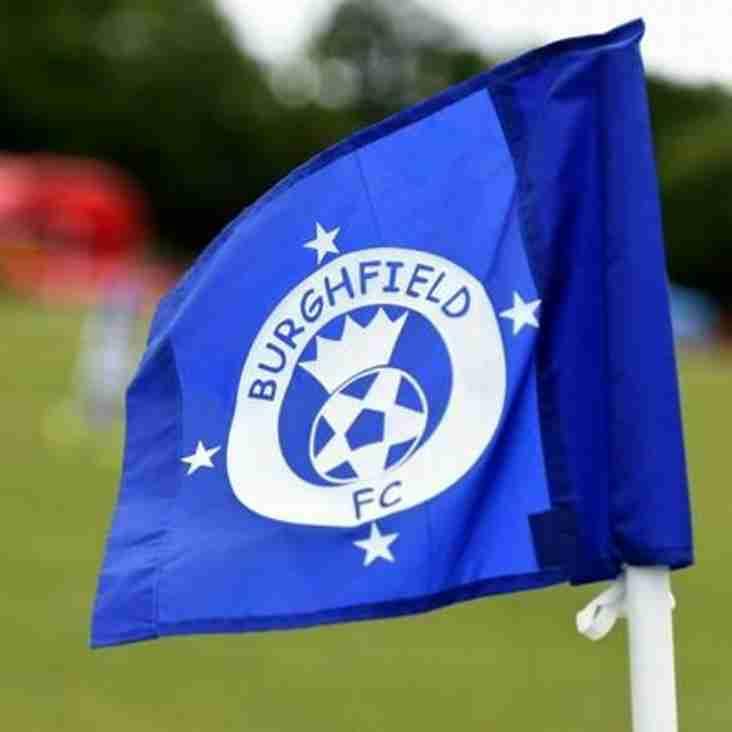 Burghfield FC Launch New Website!