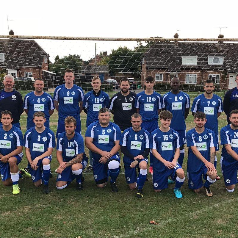 Sunday Mens - Firsts beat AFC Caversham 1 - 4