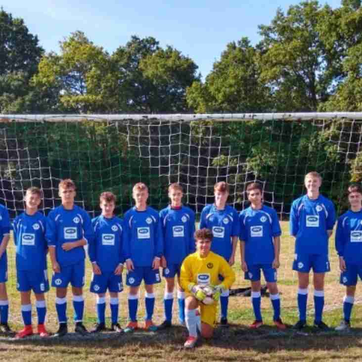 The Season So Far - Under 15 Blues
