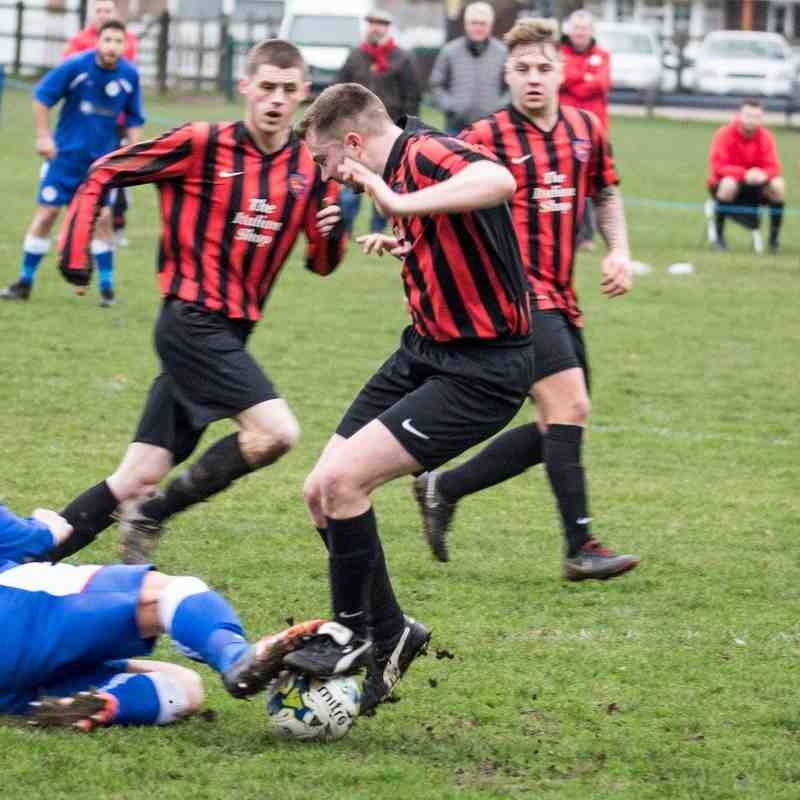 Burghfield FC v Cookham Dean