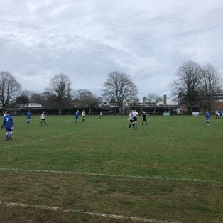 Burghfield FC fall to defeat at Woodcote Stoke Row