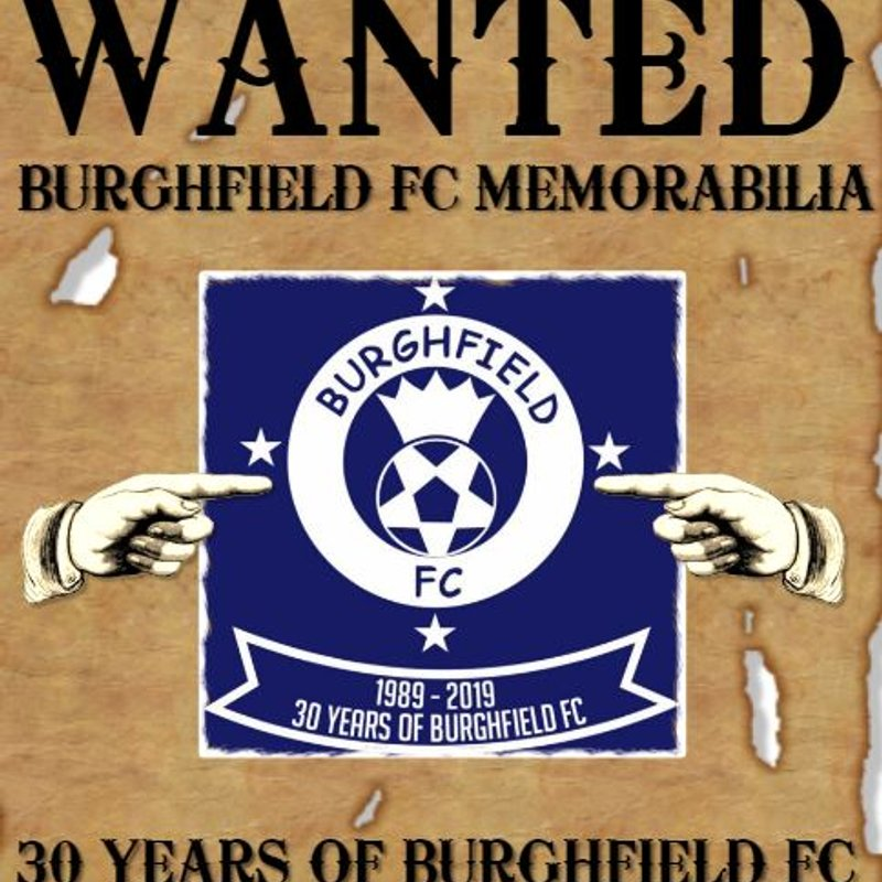 Burghfield FC Stories & Memorabilia Wanted!