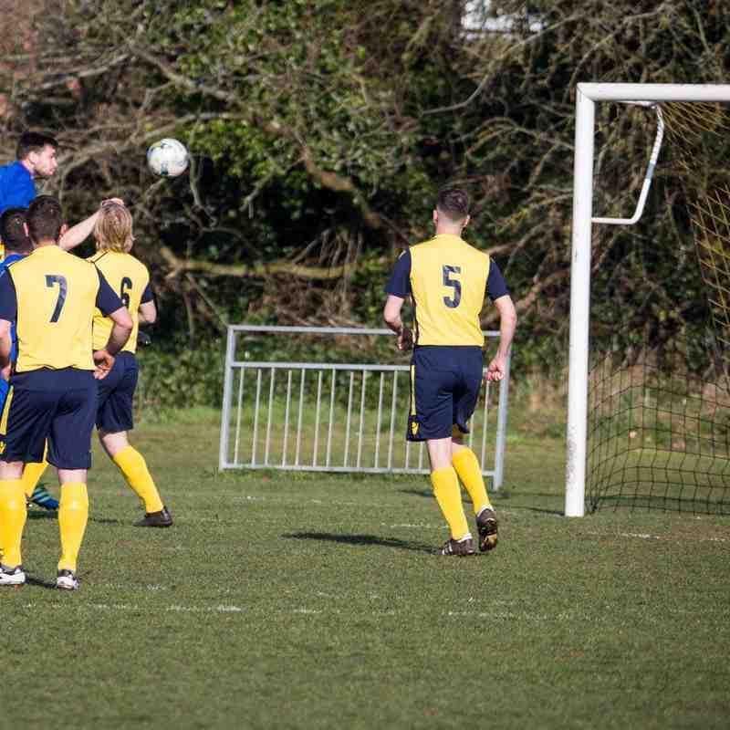Mortimer 1-4 Burghfield FC