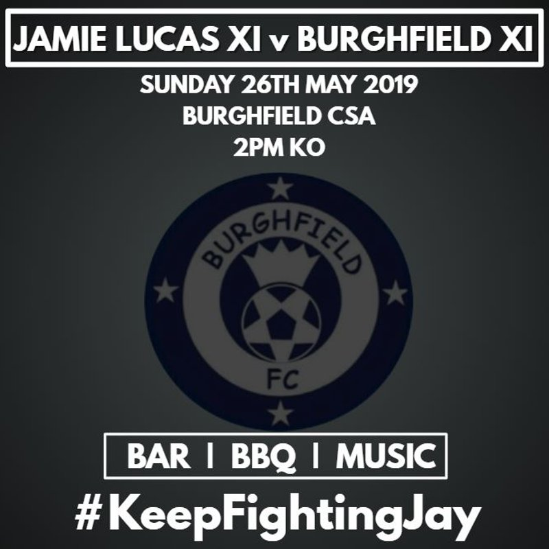 Details Announced for Jamie Lucas XI v Burghfield XI Charity Game