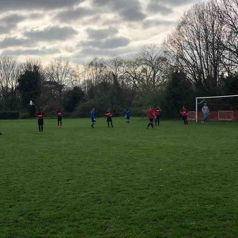 Wraysbury Village 0-1 Burghfield FC