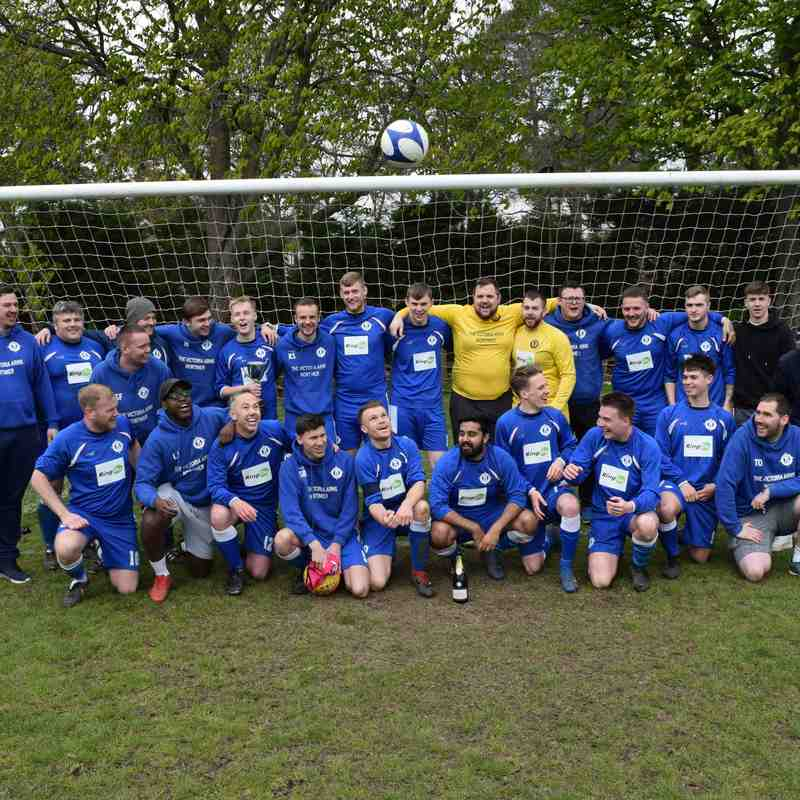 Burghfield Reserves Clinch League Title!