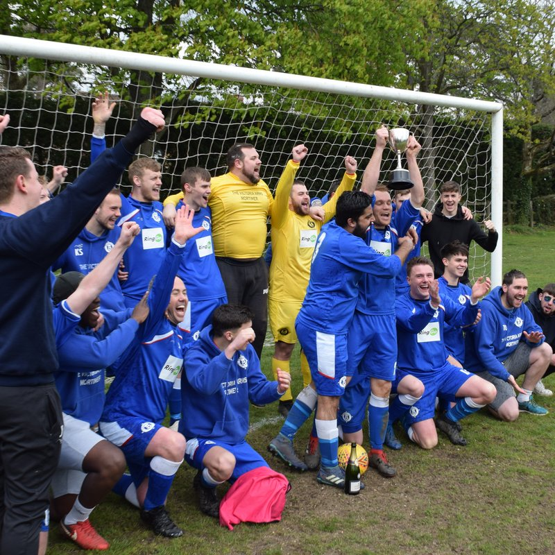 Sunday Reserves Wrap Up League Title In Style!