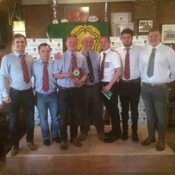 A Team receive League Winners Shield