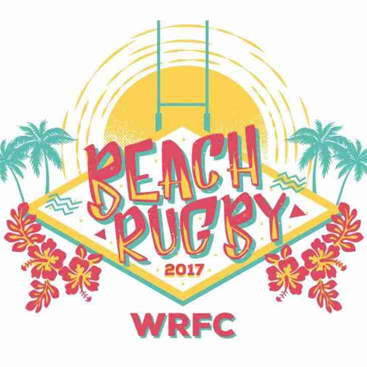 Beach Rugby this Saturday