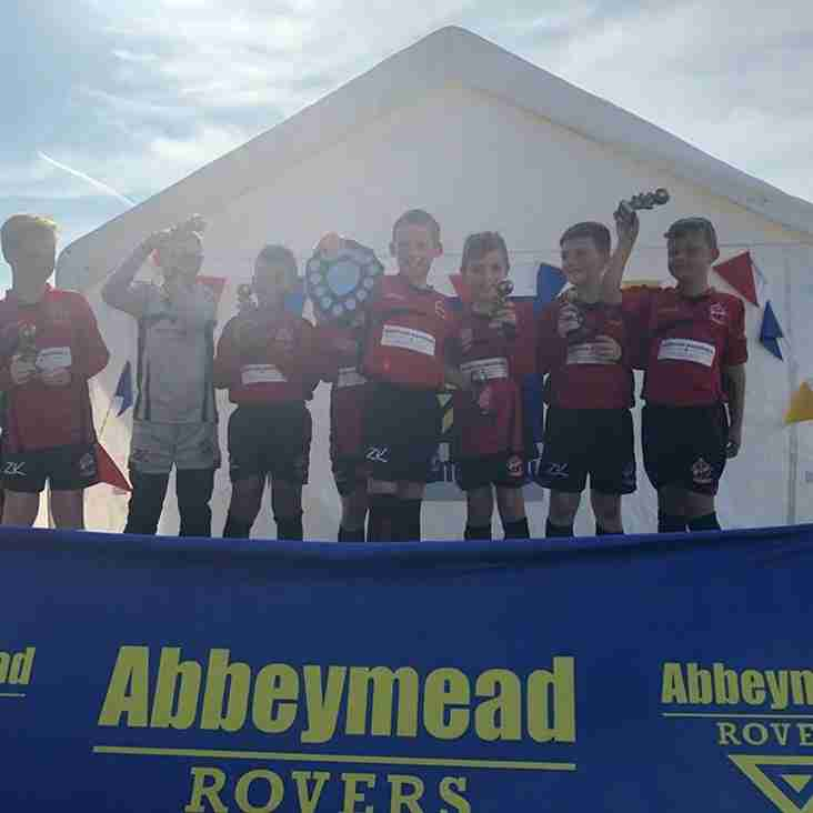 Under 9's Win Abbeymead Rovers Tournament