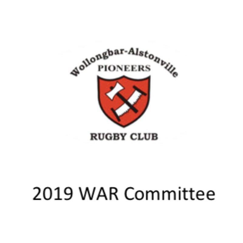 2019 WAR Committee