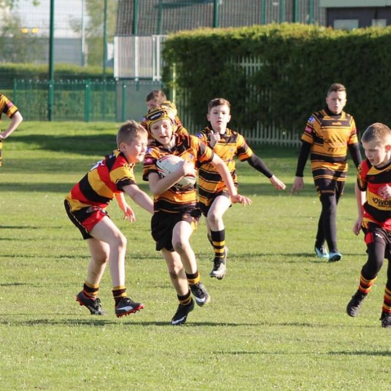 Under 12s Match Report - 25th April 2018