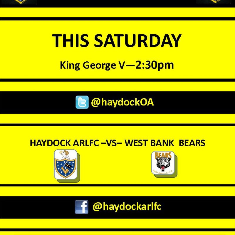 First Team Hosting West Bank Bears