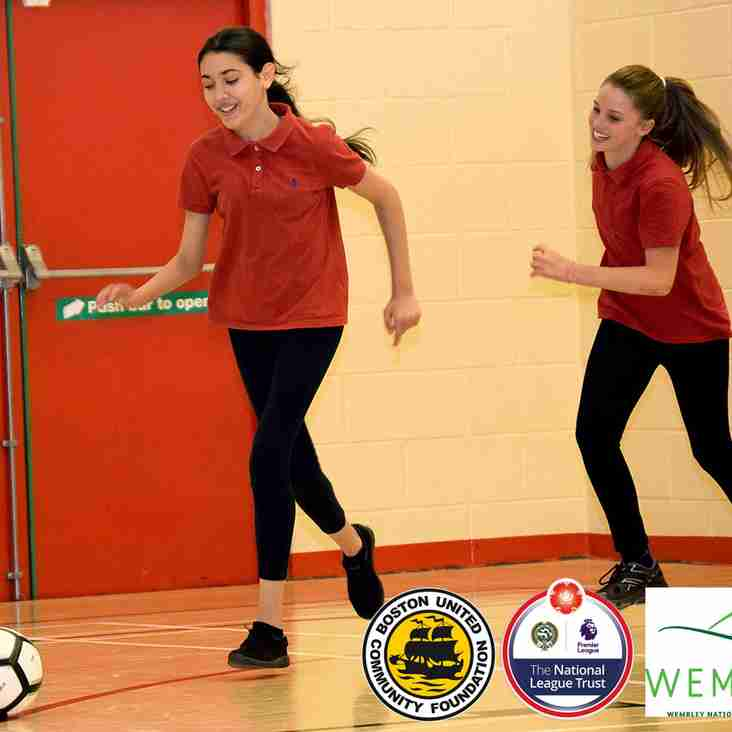 Boston United lead the way in Women and Girls' football