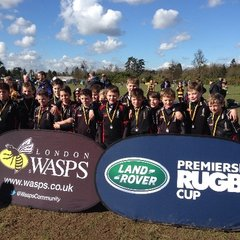 Wendens U11's at Wasps Land Rover Cup
