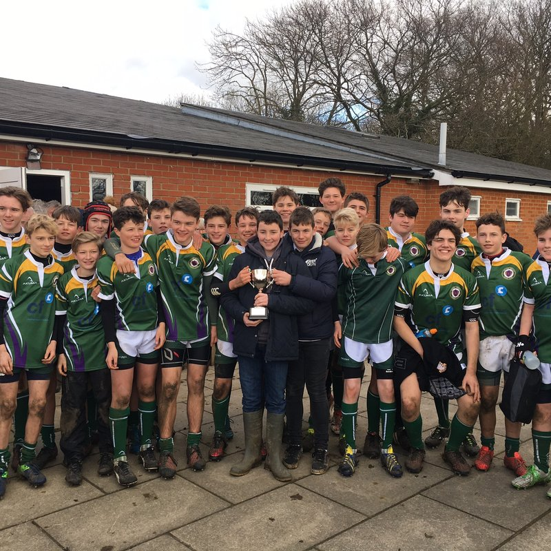 U15's clinch County Cup final spot with win over Shelford