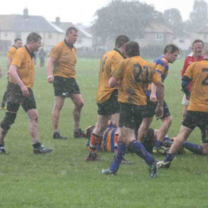 Dukinfield 1st Team playing Bangor at Home, 25-08-12, (Touring Team Game)