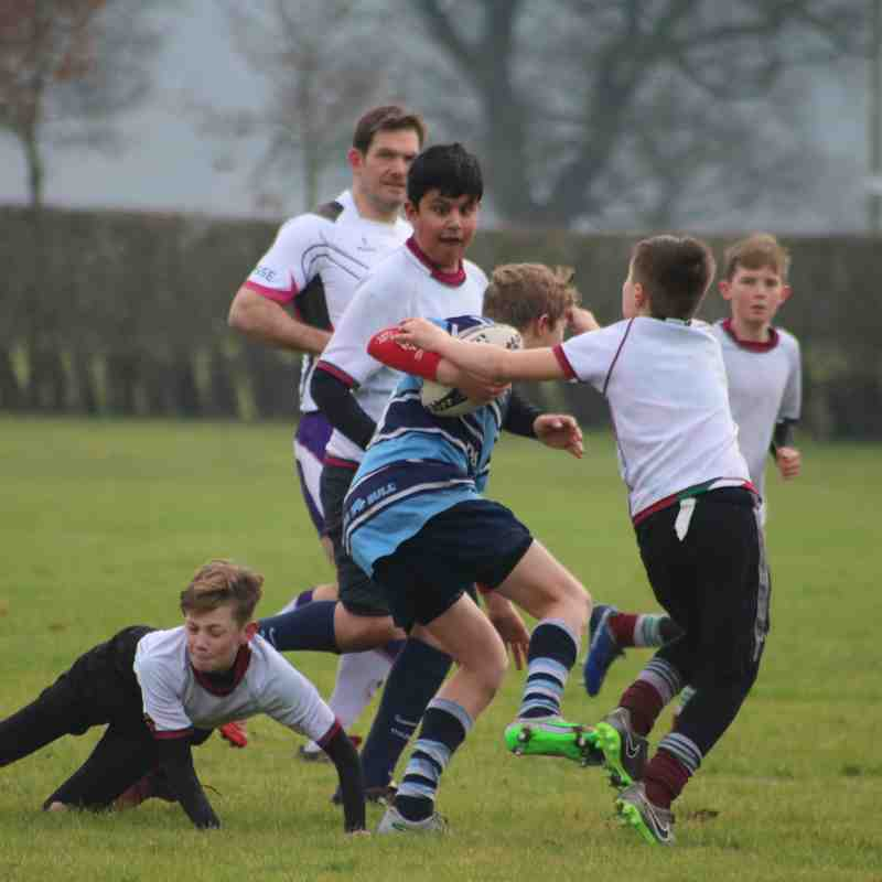 Under 13s 05.02.17 v Moortown