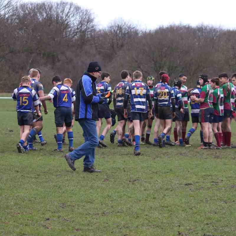 Under15s Yarnbury v Moortown 26.02.17