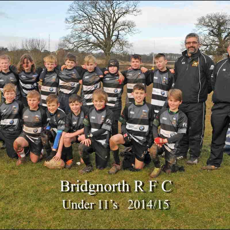 U11's Team 2014-15