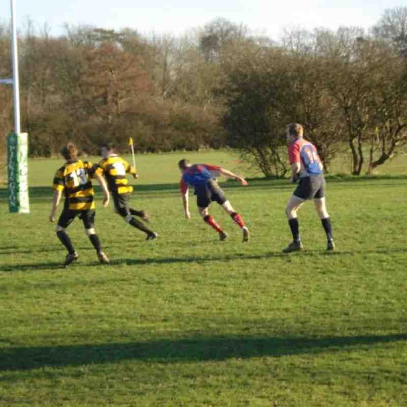 1st XV vs Aylesford 9th Feb 2008