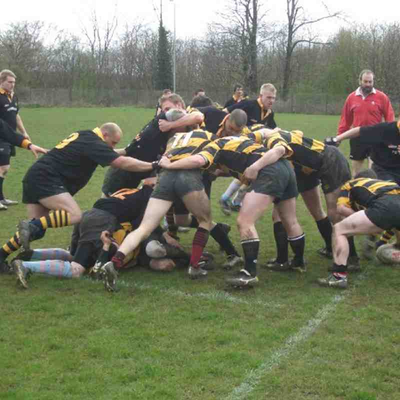 1st XV vs Lordswood 12th April 2008
