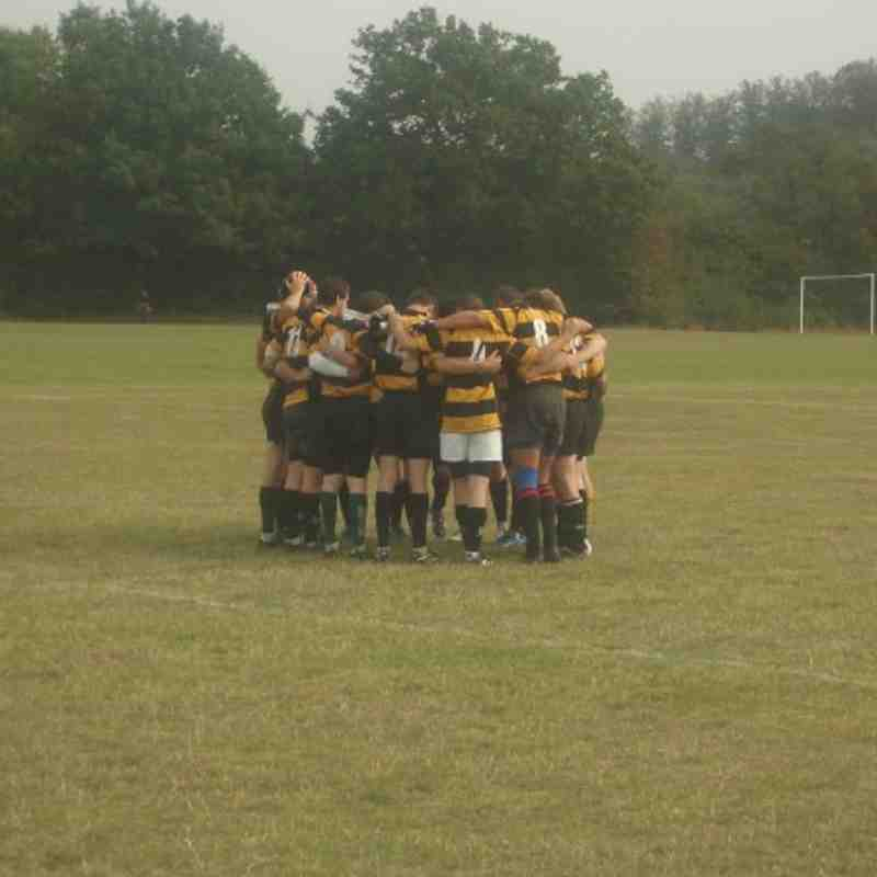1st XV vs Leigh, 19th Sept 2009