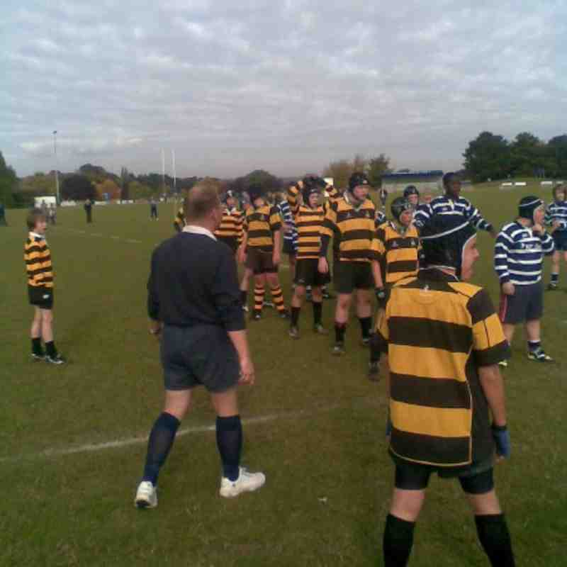 U13 vs Westcombe Park, 18th October 2009