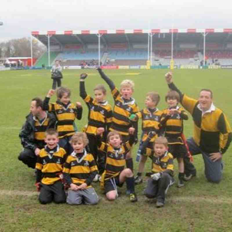 Under 7s at The Stoop