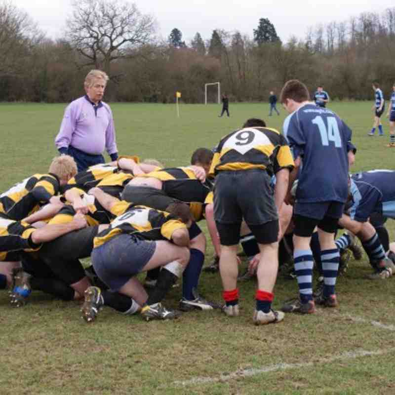 1st XV vs Old Gravesendians (h) 5th Mar 2011