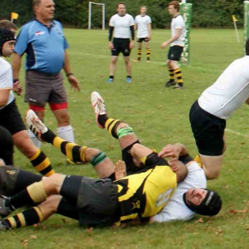 1st XV vs Lordswood 14th Sep 2013 (Kent Vase 2nd Round)