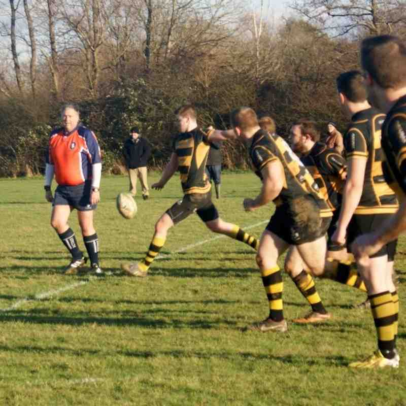 2nd XV vs Old Williamsonians II 11th Jan 2014 (Dragon Fire 4 West)