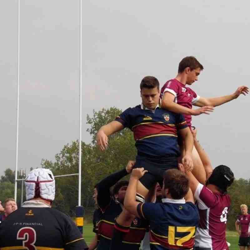 1st XV vs Old Blues (a) Junior Vase 06/09/14